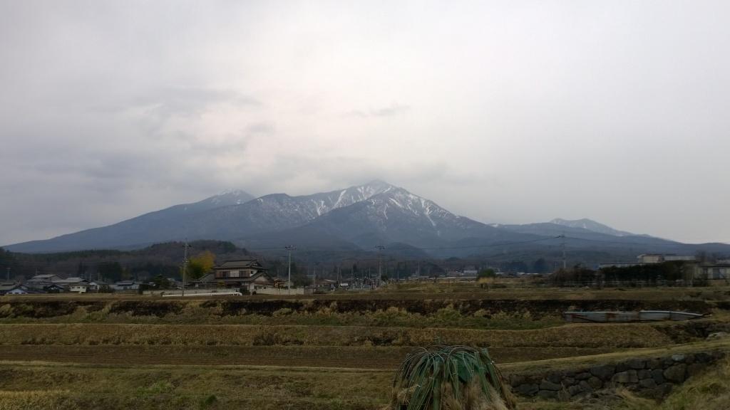 驟雨の八ヶ岳1