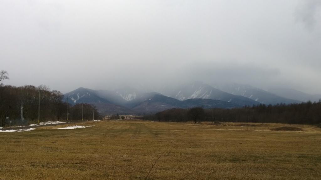 驟雨の八ヶ岳2