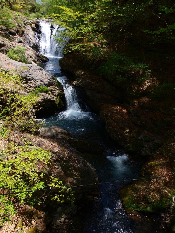 新緑と多留姫の滝2