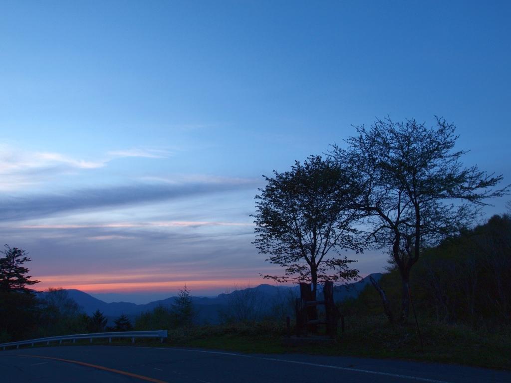 夕暮れの霧ヶ峰7