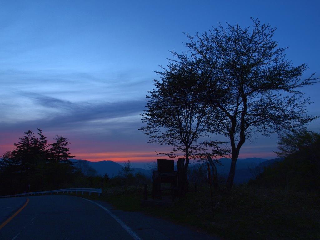 夕暮れの霧ヶ峰8