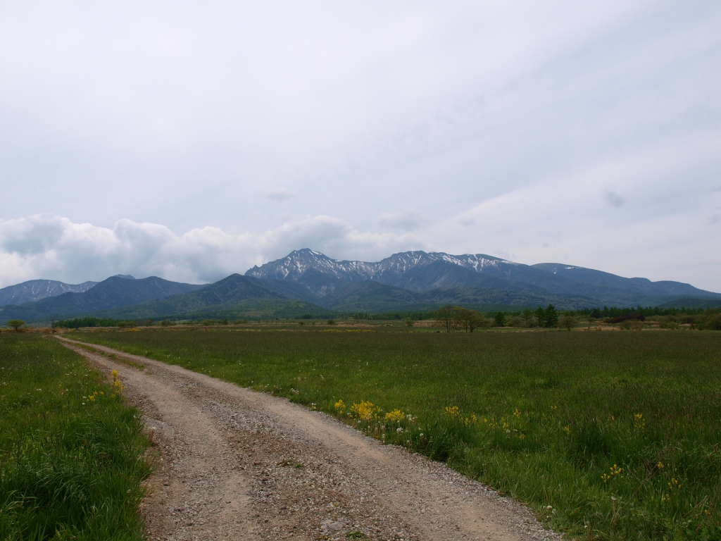 曇天八ヶ岳