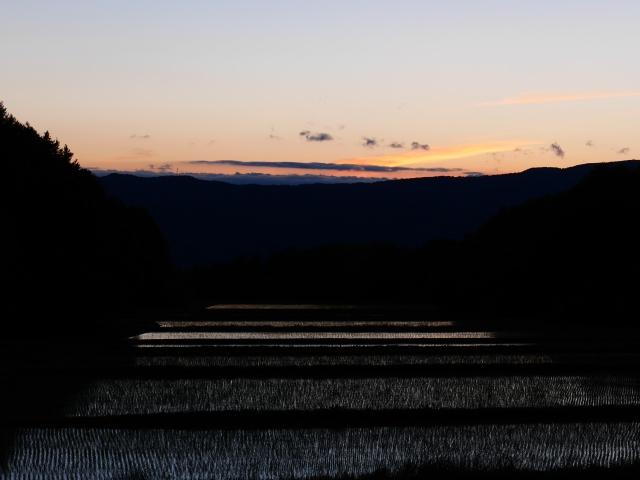 LumixG5試写17夕暮れの圃場