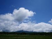 夏空と八ヶ岳1