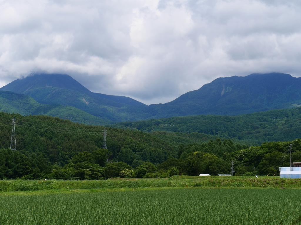 夏空と八ヶ岳4