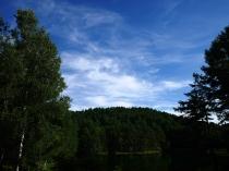 盛夏の御射鹿池2