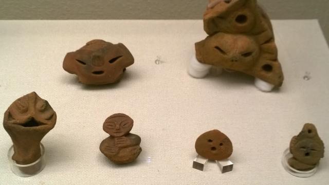 釈迦堂遺跡博物館内部7