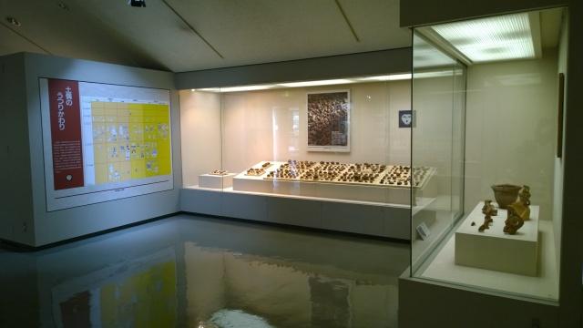 釈迦堂遺跡博物館内部2