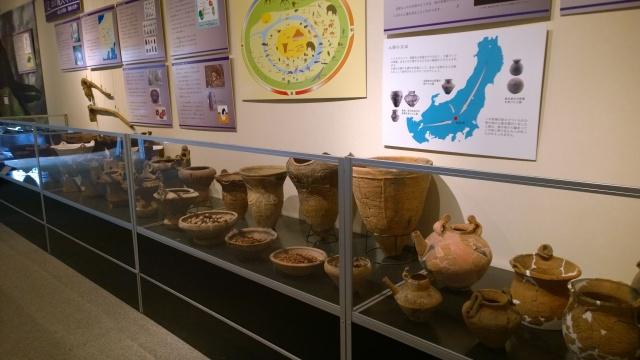 北杜市考古資料館の縄文土器