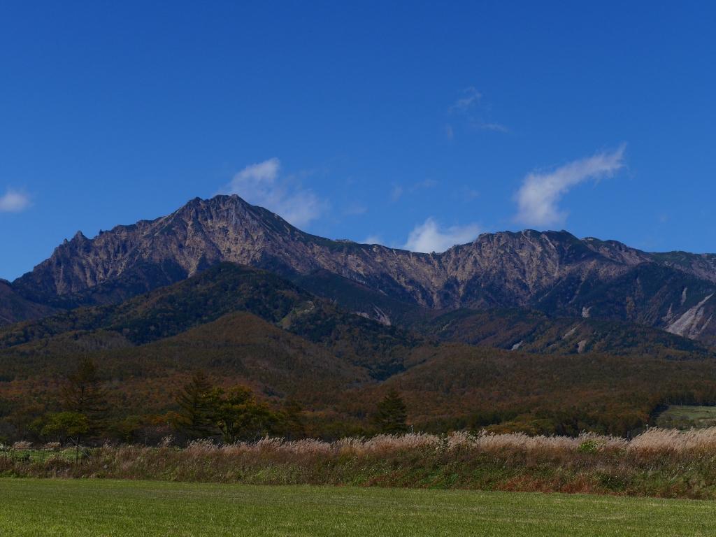 秋色の野辺山9