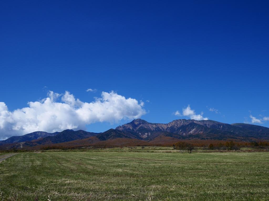 秋色の八ヶ岳1