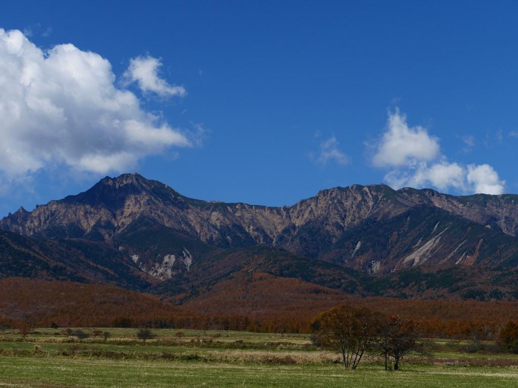 秋色の八ヶ岳2