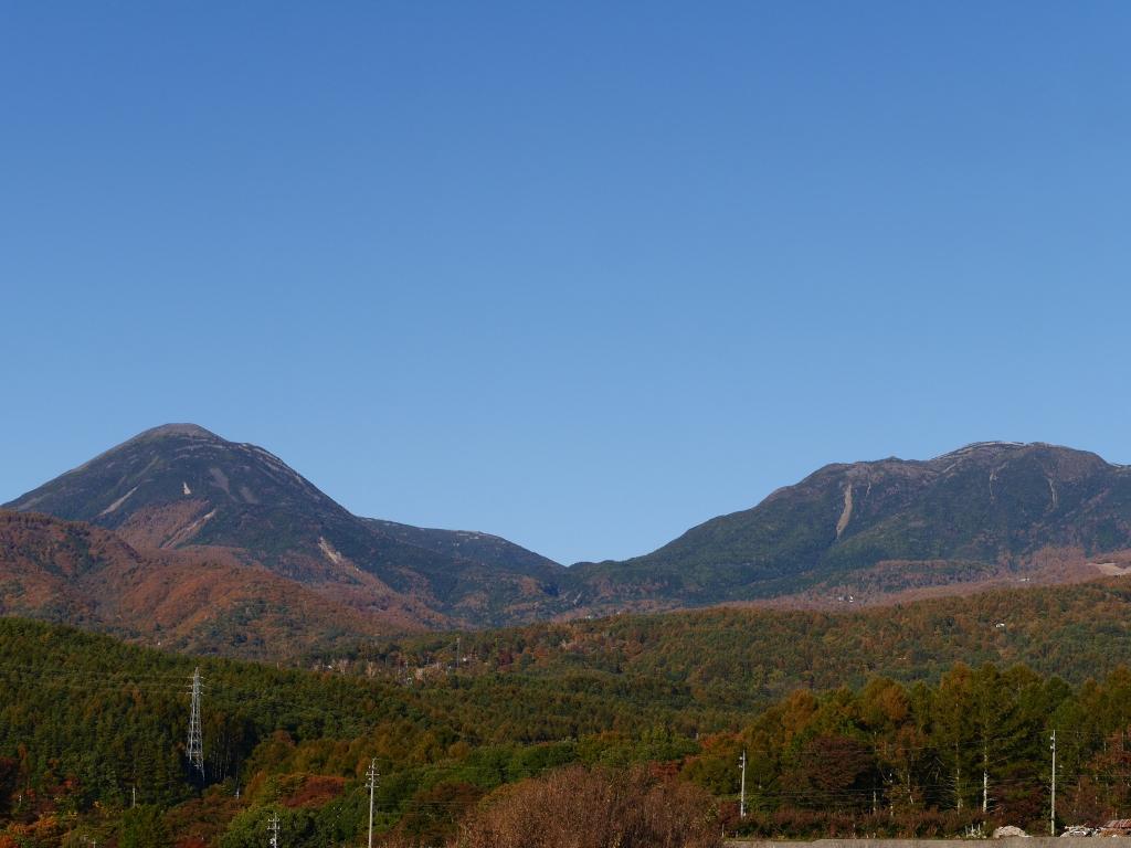 秋色の八ヶ岳8