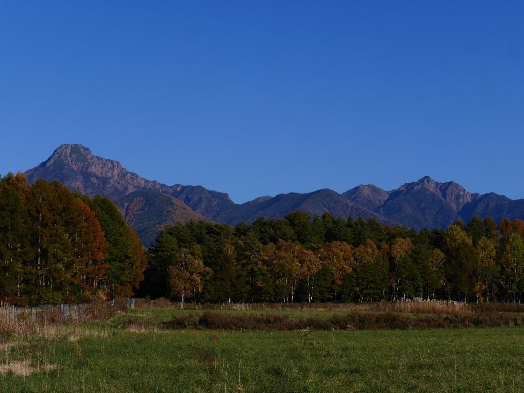 秋色の八ヶ岳10