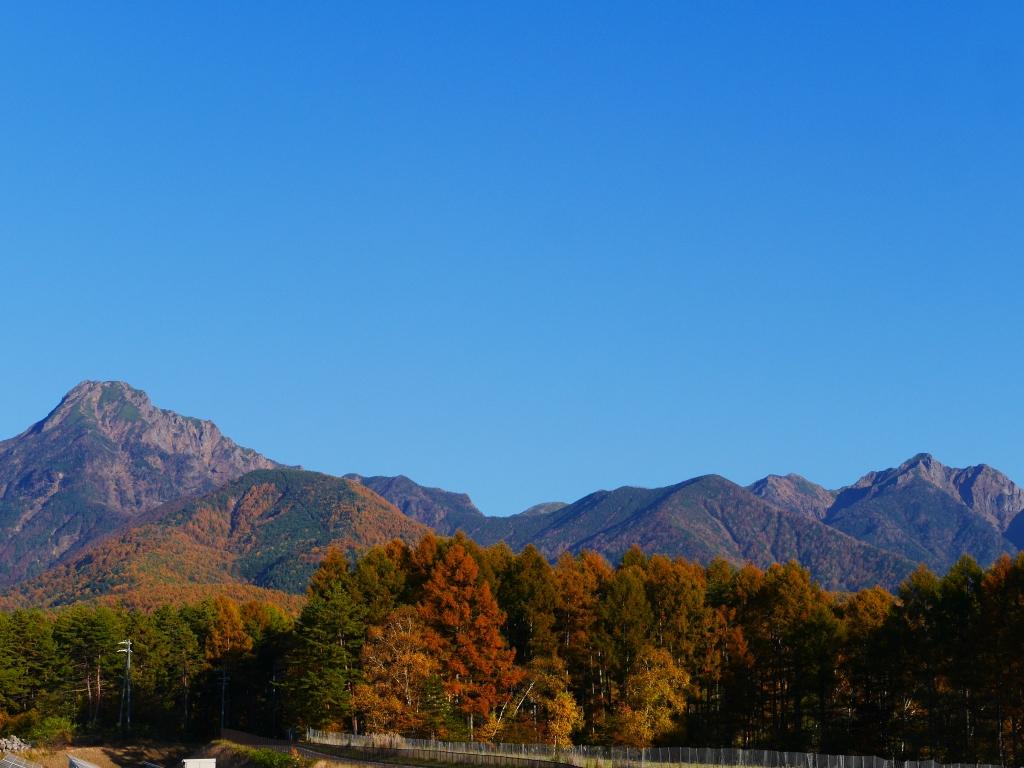 秋色の八ヶ岳11