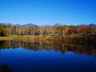 秋のまるやち湖
