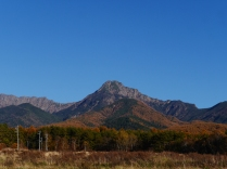 秋色の八ヶ岳