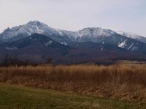 野辺山から望む初冬の八ヶ岳