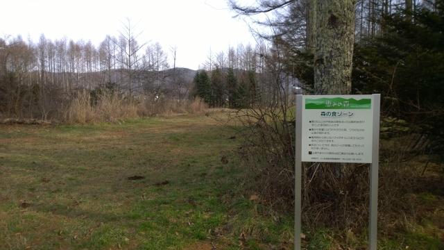 八ヶ岳演習林の解説看板5