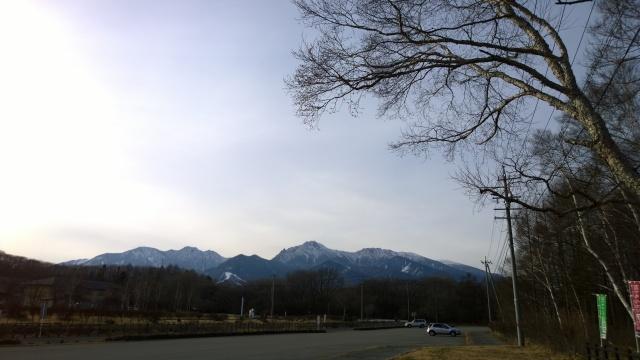野辺山天文台から望む八ヶ岳