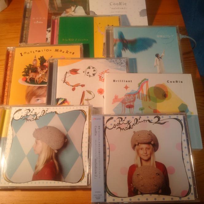 CooRie Self cover mini album「melodium2」東海岸的な2015年製のサウンドクリエイトに載せてボーカリストrinoが弾む