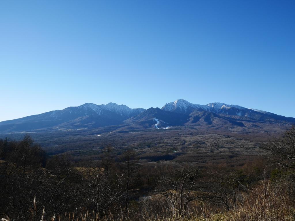 年の瀬の八ヶ岳
