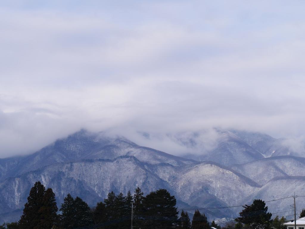 雪色の南アルプス1