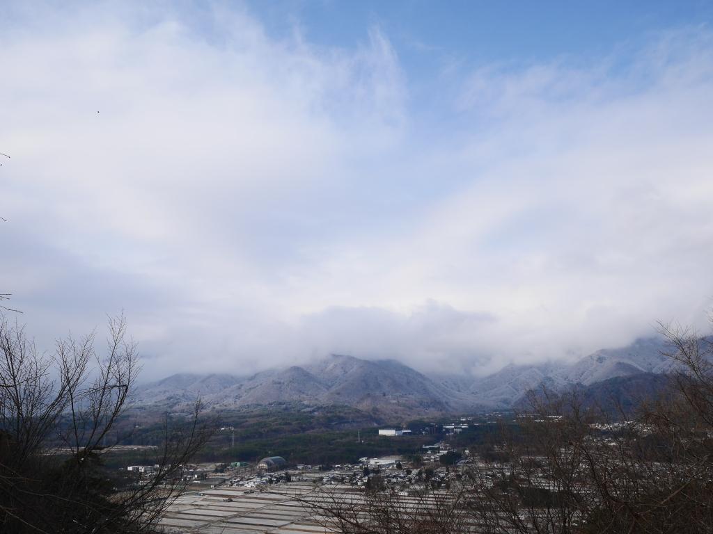 雪色の南アルプス2