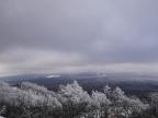 樹氷と雪原の野辺山11