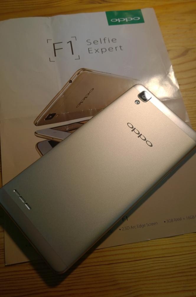 iPhoneフェイクの中華スマホは独自機能で自己主張をする(oppoの最新モデルF1を海外で買ってみる)