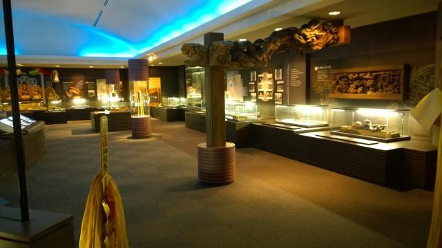 諏訪博物館常設展示室1-2