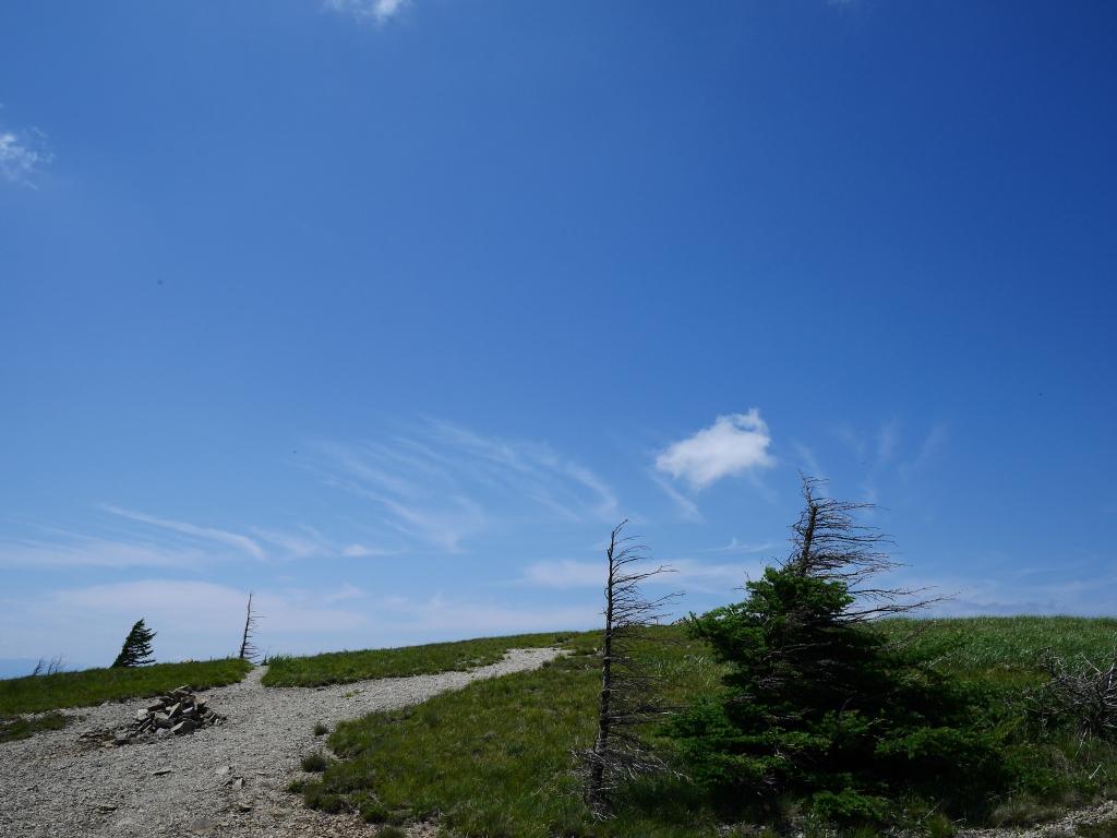 武石峰山頂