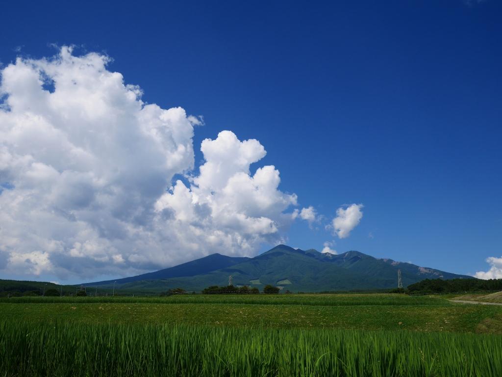 夏空の八ヶ岳