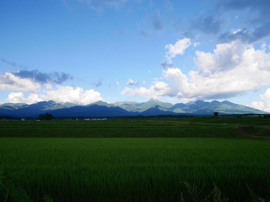 盛夏の八ヶ岳連峰