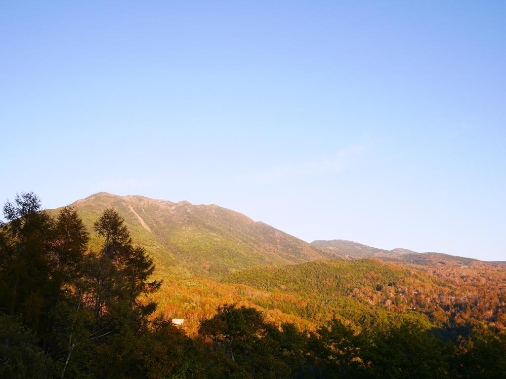 蓼科、女の神展望台から北横岳
