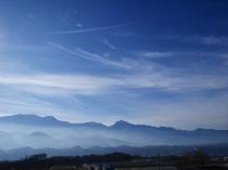 雲海と南アルプス20161204_2