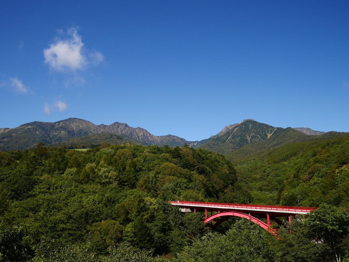 彩り始める秋の入口に八ヶ岳を添えて(2017.9.29)