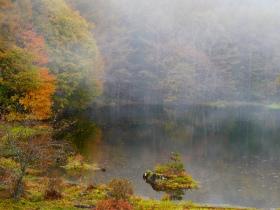 霧の湖畔(2017.10.21)
