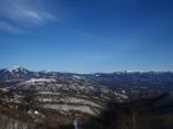 藍の空の下で八ヶ岳9