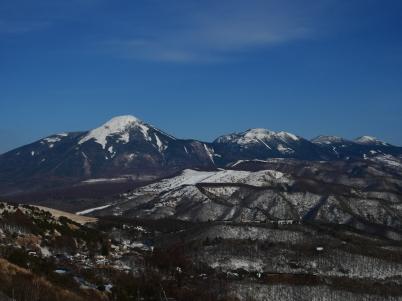 藍の空の下で八ヶ岳10