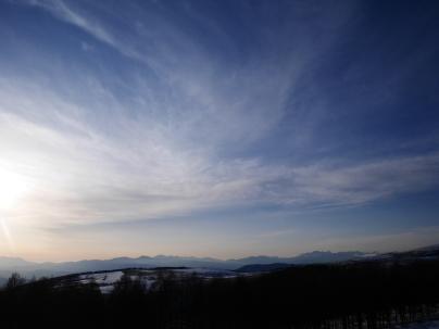 藍の空の下で八ヶ岳14