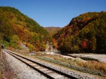 秋色の佐久広瀬
