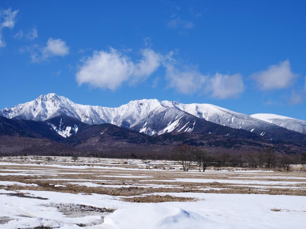 雪の少ない野辺山と八ヶ岳3